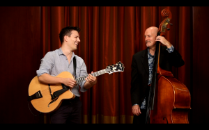 Jazz guitar and bass/cello duo
