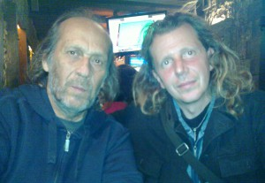 Eugenio with Paco de Lucia